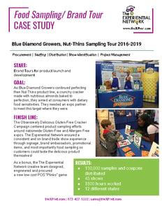 M2W Inc CASE STUDIES_Food Sampling
